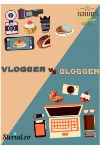 Vlogger vs Blogger