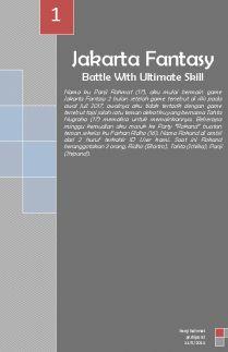 Jakarta Fantasy: Battle With Ultimate Skill
