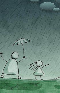 kenangan hujan bersama harap