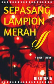 Sepasang Lampion Merah