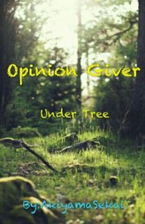 Opinion Giver Under Tree